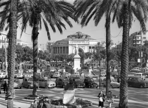 Piazza Politeama, 1960