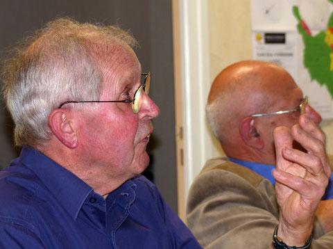 et Jean Yves présentant BOLANOS DE CALATRAVA