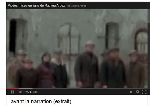 "Extrait du film ""Avant la narration"" de Mathieu ARBEZ"