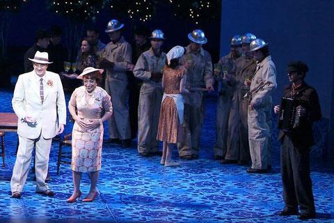 """Foto von der Premiere der Oper """"il postino"""" mit Placido Domingo und den Wiener Symphonikern am Theater an der Wien, 9.12.2010"""