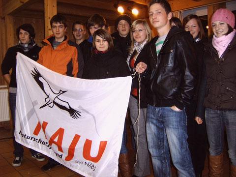 Die Jugendgruppe bei ihrer Neugründung 2008
