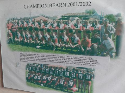 champion du Béarn 2001-2002