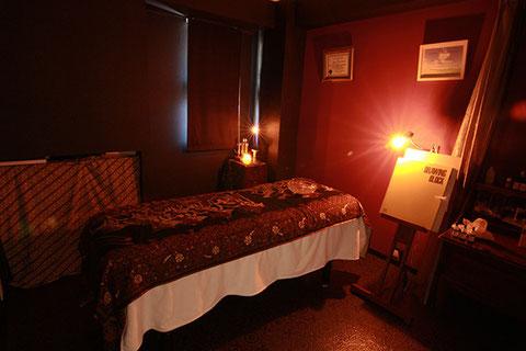名古屋市千種区「キネシオロジー 千番目の種」セッション用の個室