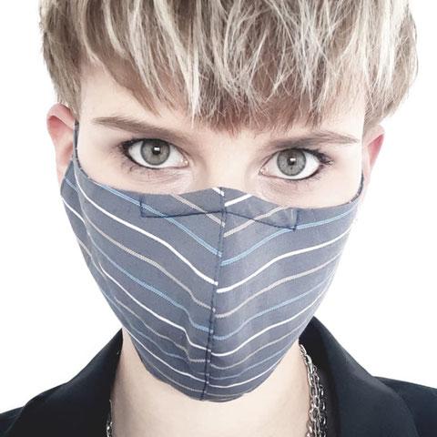 STRIPES Mund-Nasen-Maske unisex