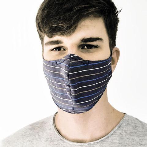 STRIPES Mund-Nasen-Maske für Damen und Herren