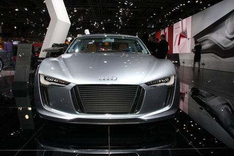 Audi e-tron auf der AMI in Leipzig