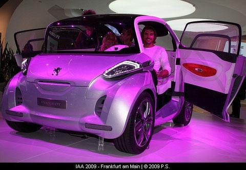 BB1  Peugeot Elektro Auto Concept Car