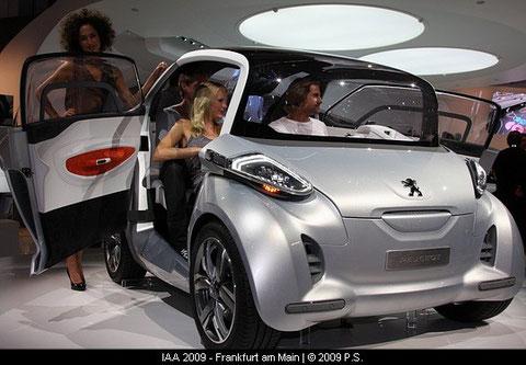 BB1  Peugeot Elektroflitzer  Concept Car