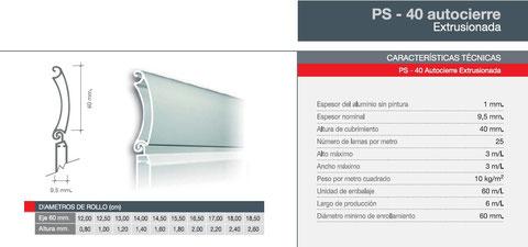 Persianas aluminio seguridad Álava