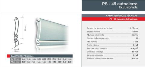 Persianas seguridad aluminio Vitoria