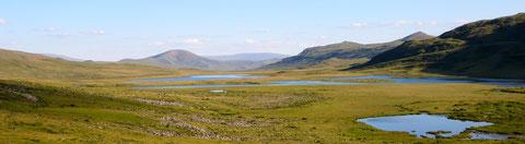 Lacs de vallée à l'Est de l'Otgontenger