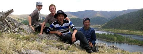 Naiman Nuur Les 8 lacs avec les guides