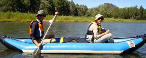 Descente canoe-raft rivière Yeroo