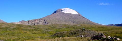 La montagne sacré de l'Otgontenger (4008m)