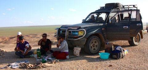 Les nouveaux 4X4 en Mongolie