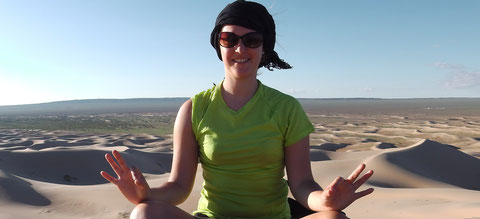 Les dunes du Gobi en Mongolie