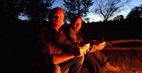 Repas en bivouac nuit sous tente, inclus 2 nuits en yourte des familles nomades