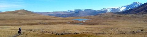 """Les passages des plateaux d'altitude au """"Tavan Bogd"""" en """"Mongolie"""" à cheval"""