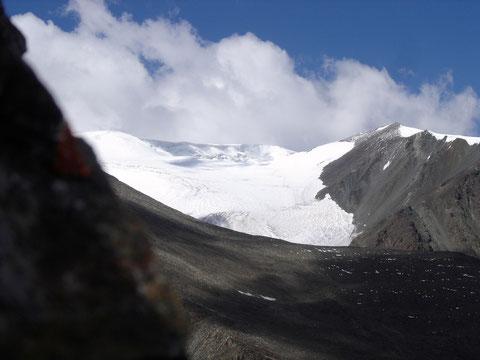 Glacier au Tsambagarav