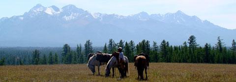 Après la montagne les plaines, lacs et rivières du nord ouest Khovsgol Mongolie