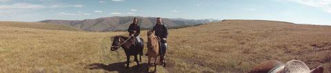 Expédition trappeur à cheval