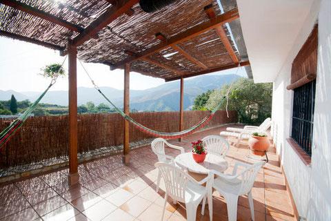 Terraza y vista Alpujarra