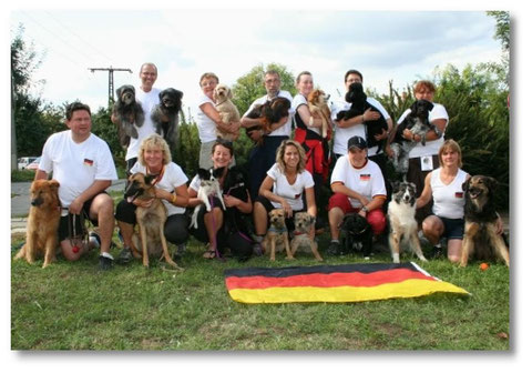 Unser Team Germany 2009 in Ungarn