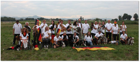 Unser Team Germany in Italien