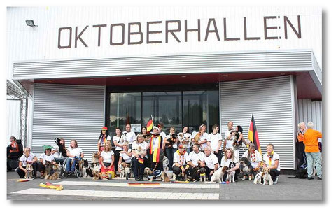 Unser Team Germany 2012 in Belgien