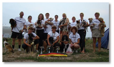 Unser Team Germany 2008 in Italien