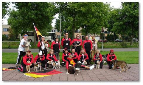 Unser Team Germany 2006 in den Niederlanden
