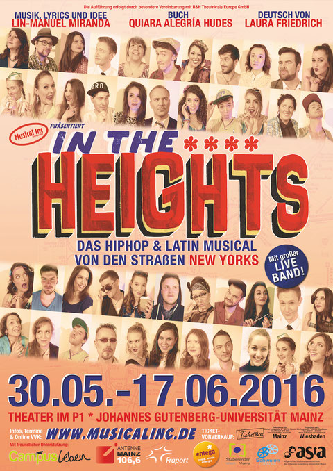 Musical Inc. präsentiert IN THE HEIGHTS