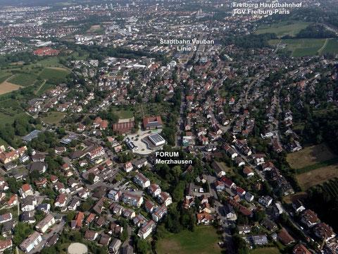 """FORUM Merzhausen - DIE Location vor den Toren Freiburgs. ICE und TGV nur vier km """"entfernt""""."""
