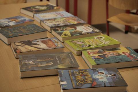 Bücher im Fokus des Interesses