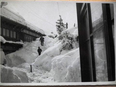 山中温泉豪雪
