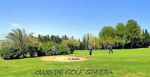 Bild: © Birgitta, Club de Golf Gandia, 6 km entfernt von der Ferienwohnung Valencia