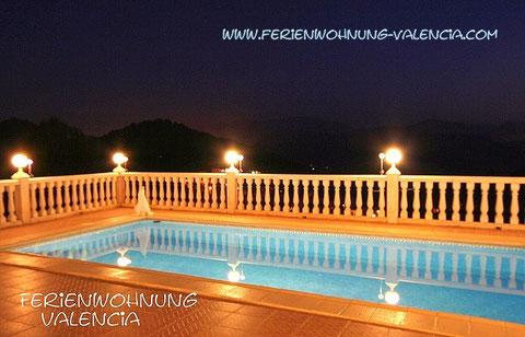 Ferienwohnung VALENCIA, Meerwasser-Pool