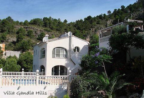 Villa Gandia Hills, Ferienwohnung Valencia in der unteren Etage