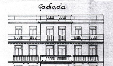 Plano de alzado, Archivo de la Villa de Madrid.