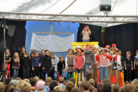 Kindertheatertreffen in Lörrach, Juni 2010