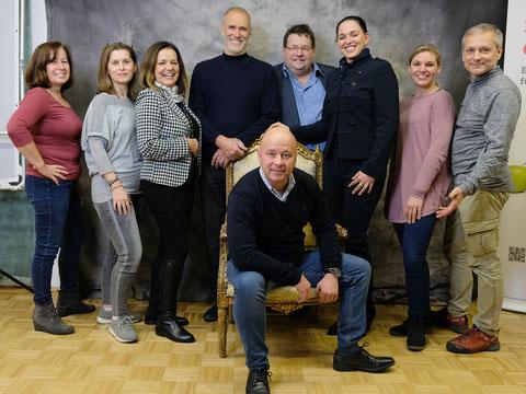 Die TeilnehmerInnen des Fotoworkshops mit Michael Schnabl