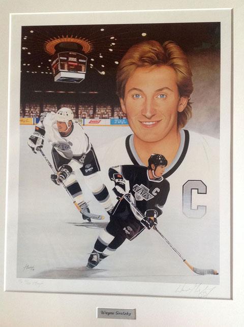 Wayne Gretzky by Joachim Thiess