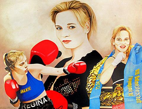 Regina Halmich by Joachm Thiess