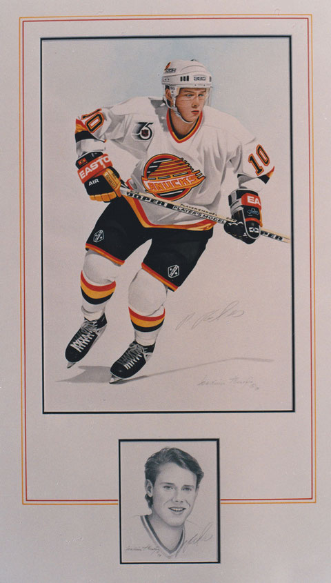 Pavel Bure, Collage by Joachim Thiess, Fotorealist