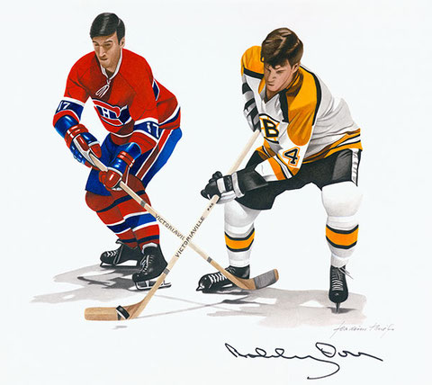 Bobby Orr by Joachim Thiess, the hockey collection