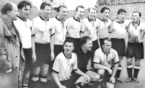 Finale von Bern 1954 by Joachim Thiess