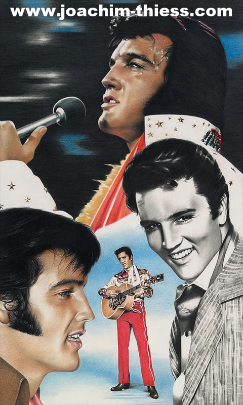 Elvis Presley by Joachim Thiess