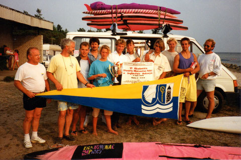 Sommer 98: Die Surfer in Polen