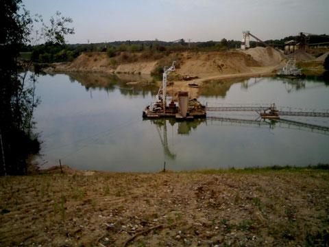Mai 2012 Der Durchstich ist erfolgt - die Seen verbunden