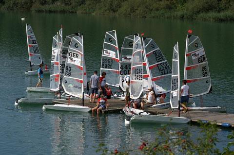 Sept. 2011 Erste O'pen BIC Ranglistenregatta am Pulheimer See